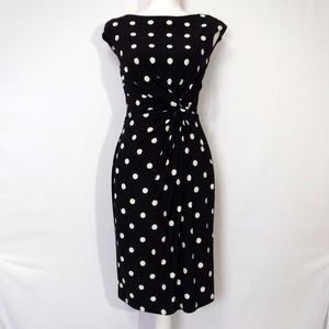 NWT Ralph Lauren Polka Dot Dress Size 6
